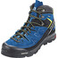 Salomon X Alp LTR GTX Mid Hiking Shoes Men Black/Poseidon/Sulphur Spring